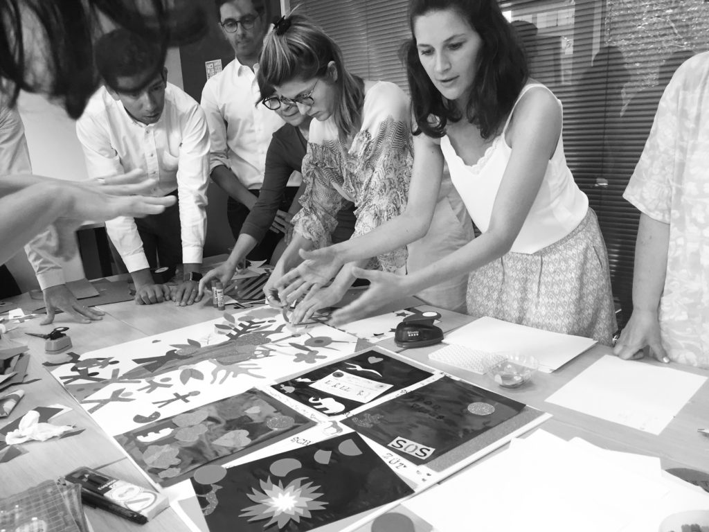 BIRDS Conseil et Merci Louise s'associent autour d'ateliers créatifs et collaboratifs pour les entreprises