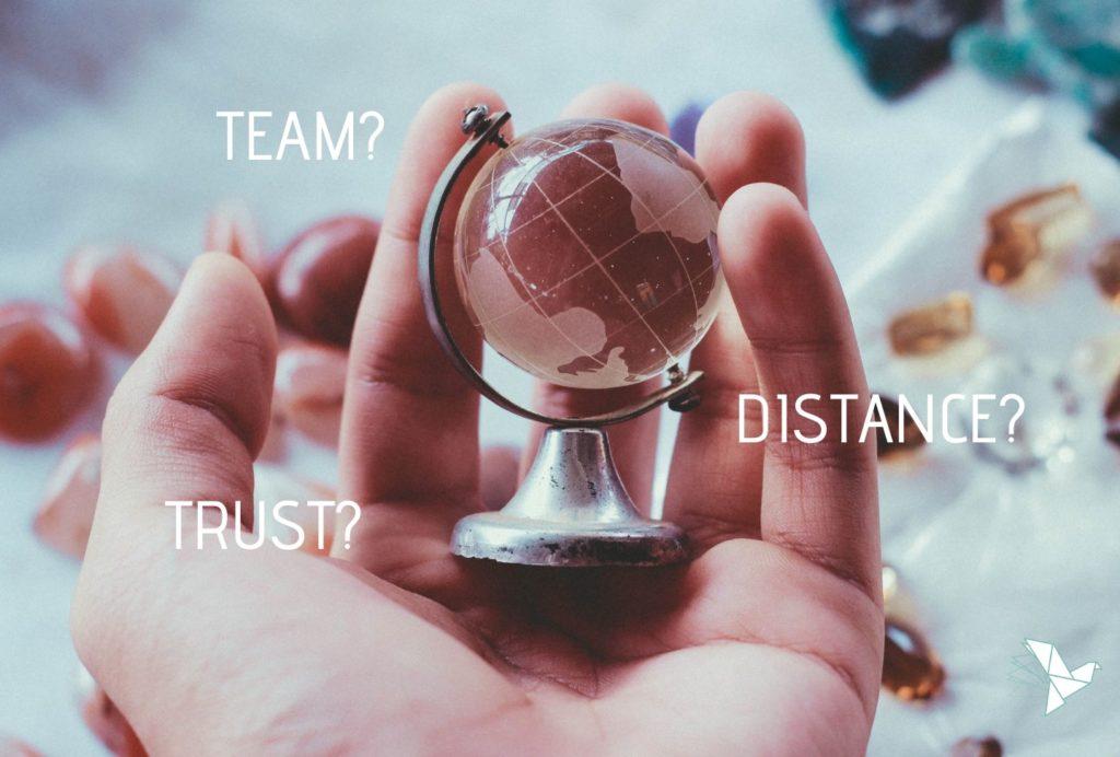 Comment instaurer la confiance pour une collaboration optimale pour vos équipes géographiquement dispersées ??