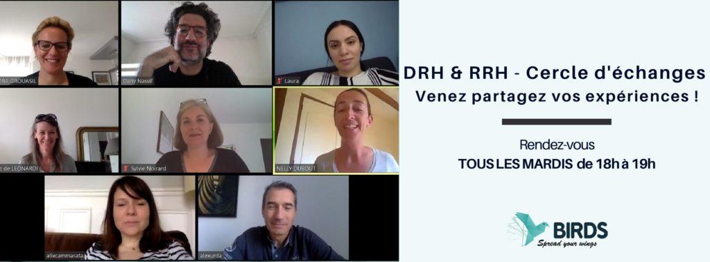bannière cercle d'échanges DRH / RRH
