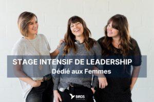 Stage intensif de Leadership pour Femmes