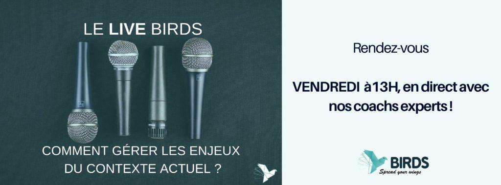 banniere le live birds